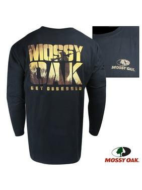 b540e89720a36b Product Image Mossy Oak Obsessed Long-Sleeve Crew (S)- Black