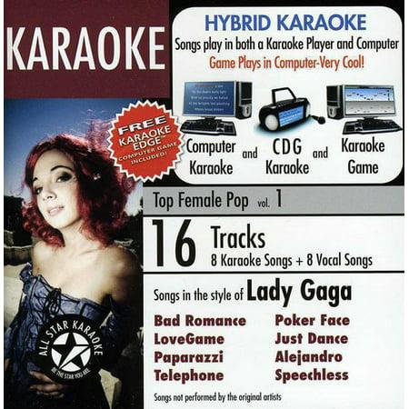 Karaoke: Hits Of Lady Gaga, Vol. 1 (CD) (Lady Gaga Roter Lippenstift)