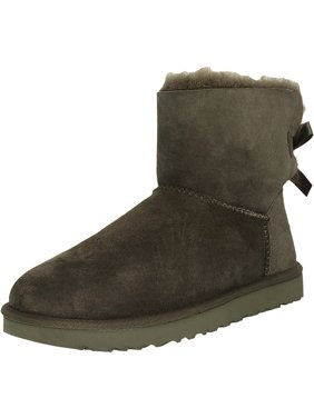 43f2e2075a9 Product Image Ugg Women s Mini Bailey Bow Chestnut Ankle-High Suede Boot -  9M