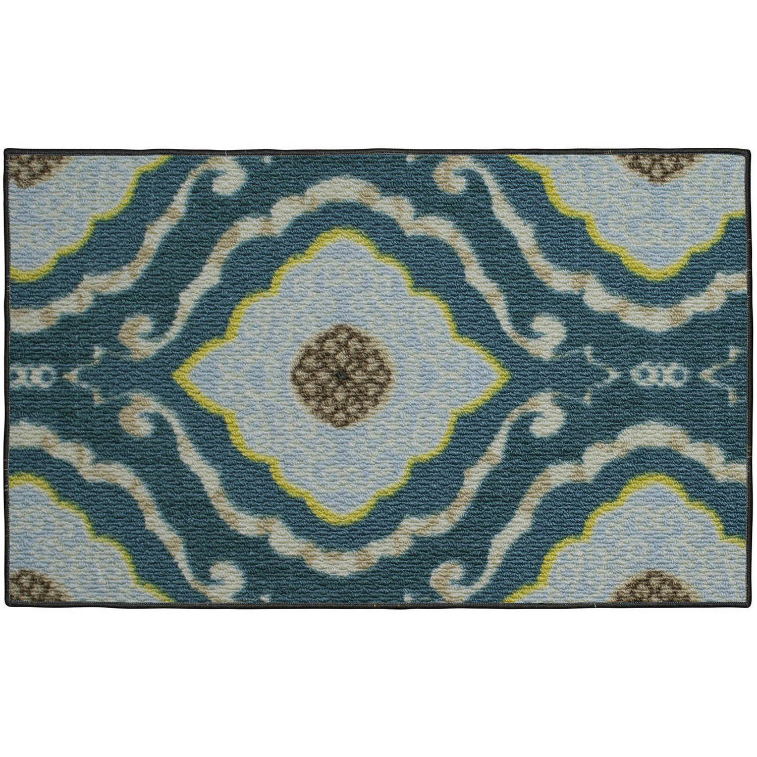 Structures Julianna Textured Printed Accent Rug by Generic
