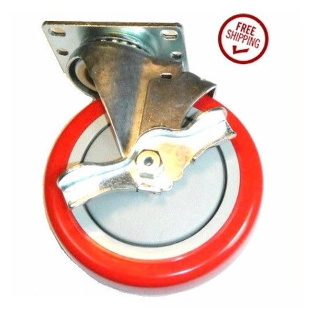 - (1) Swivel Plate Caster 5