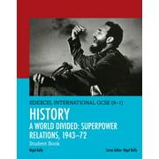 EDEXCEL INTERNATIONAL GCSE 9-1 HISTORY A