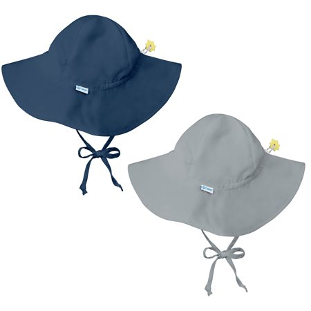 iplay. - i play Baby and Toddler Brim Sun Protection Hat-Navy Blue and Gray  - 2 Pack - Walmart.com 4396211f67b2