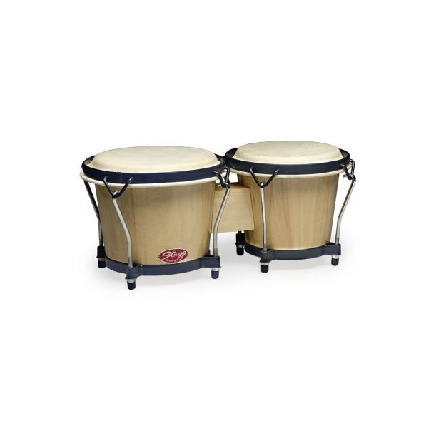 Stagg BW70N Bongos in Natural Finish by Stagg