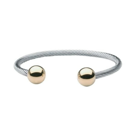 Stainless Steel Wire Magnetic Bracelet-S/M