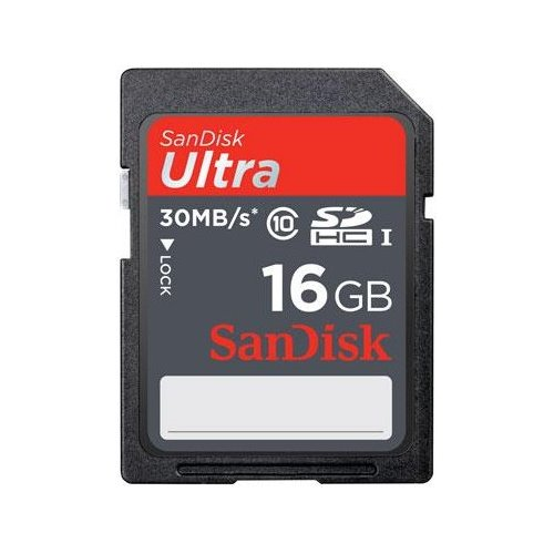 SanDisk SDSDU-016G-A46 Ultra 16 GB Secure Digital High Capacity (SDHC) - 1 Card