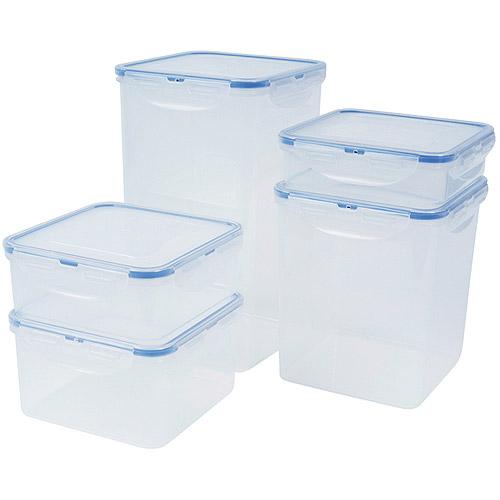 Lock and Lock 10-Piece Food Storage Set
