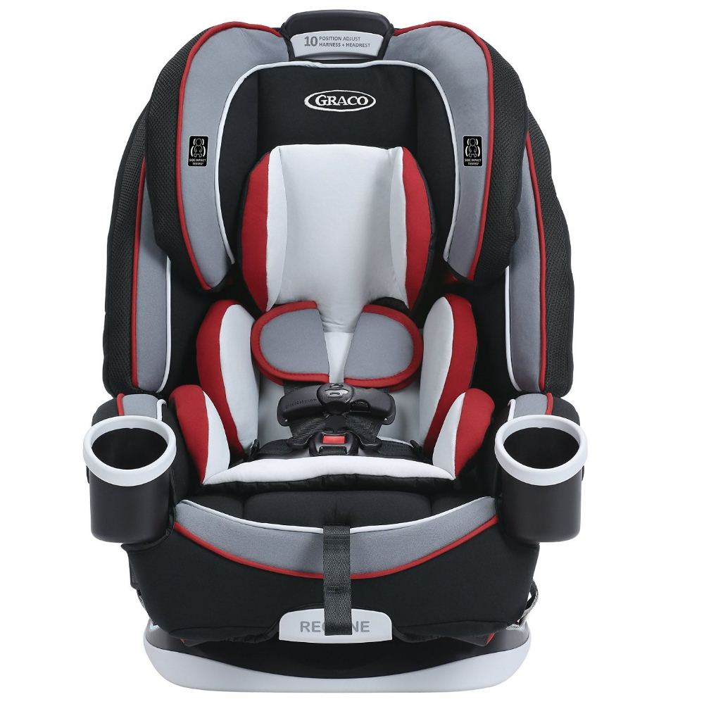 new graco 4 in 1 grows with child safety harness convertible car seat azalea ebay. Black Bedroom Furniture Sets. Home Design Ideas