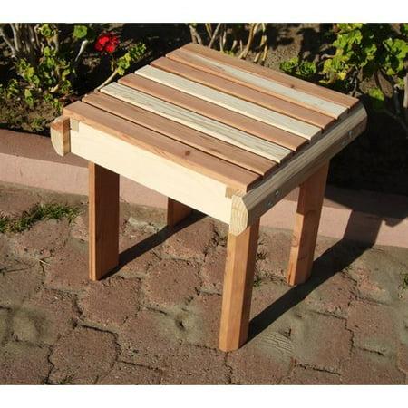 Best Redwood Beach Side Table Walmartcom - Redwood side table