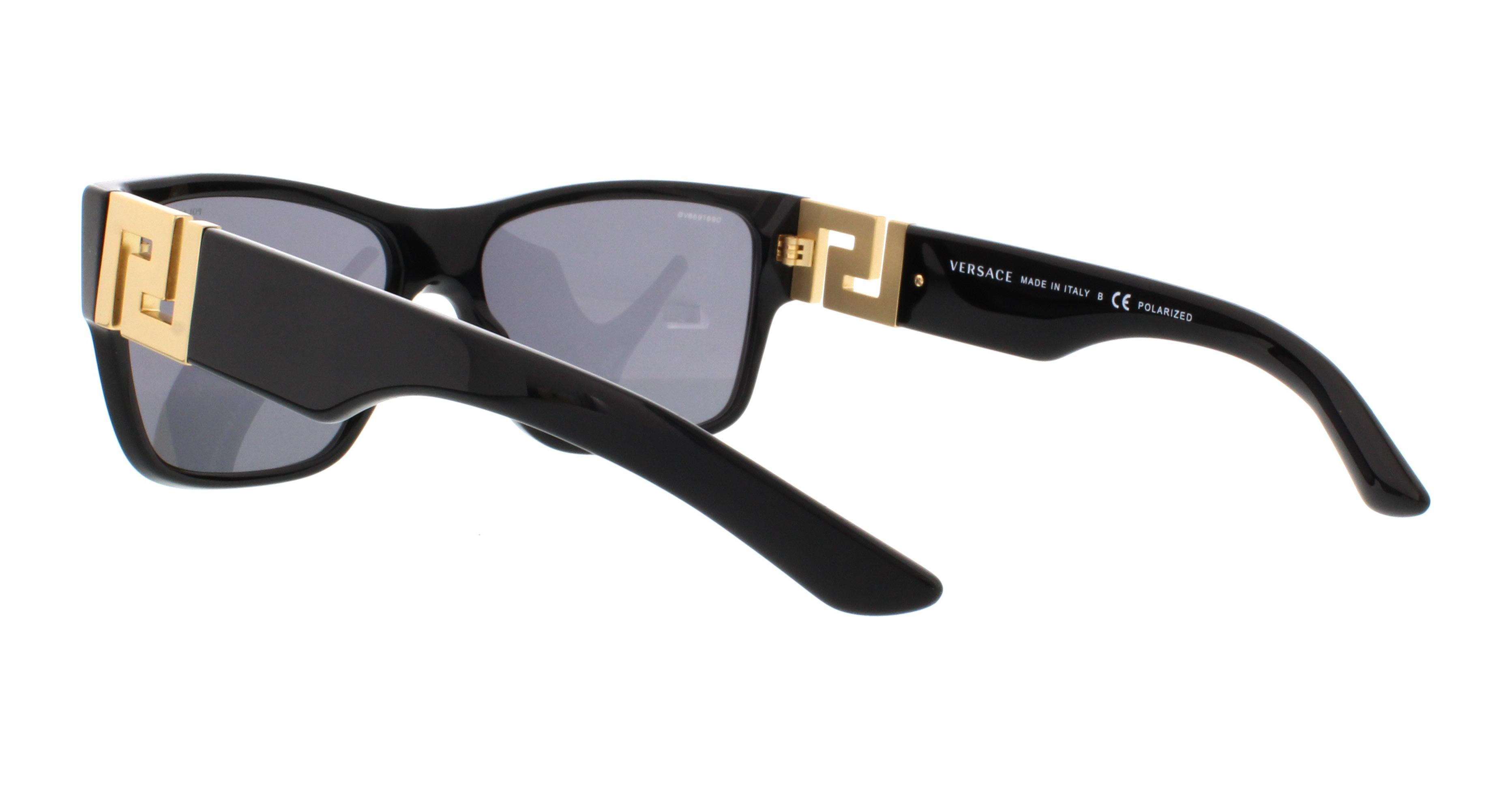 9c3a1abaed4 Versace - VERSACE Sunglasses VE4296 GB1 81 Black 59MM - Walmart.com