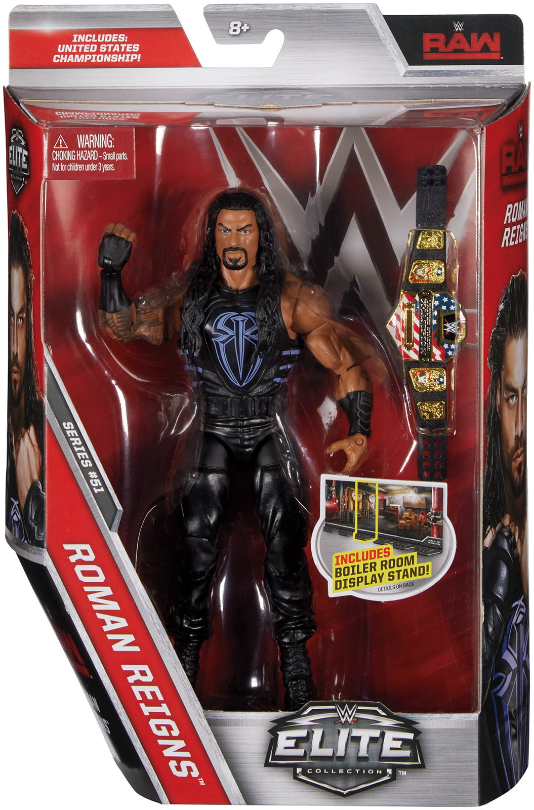 Roman Reigns WWE Elite 51 Toy Wrestling Action Figure by Mattel