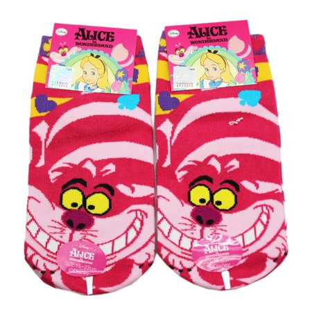 Disney's Alice in Wonderland Cheshire Cat Themed Socks (1 Pair Size 15-22cm)](Wonderland Prom Theme)