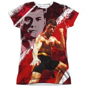 Bloodsport Fight Of Your Life (Front Back Print) Juniors Sublimation Shirt