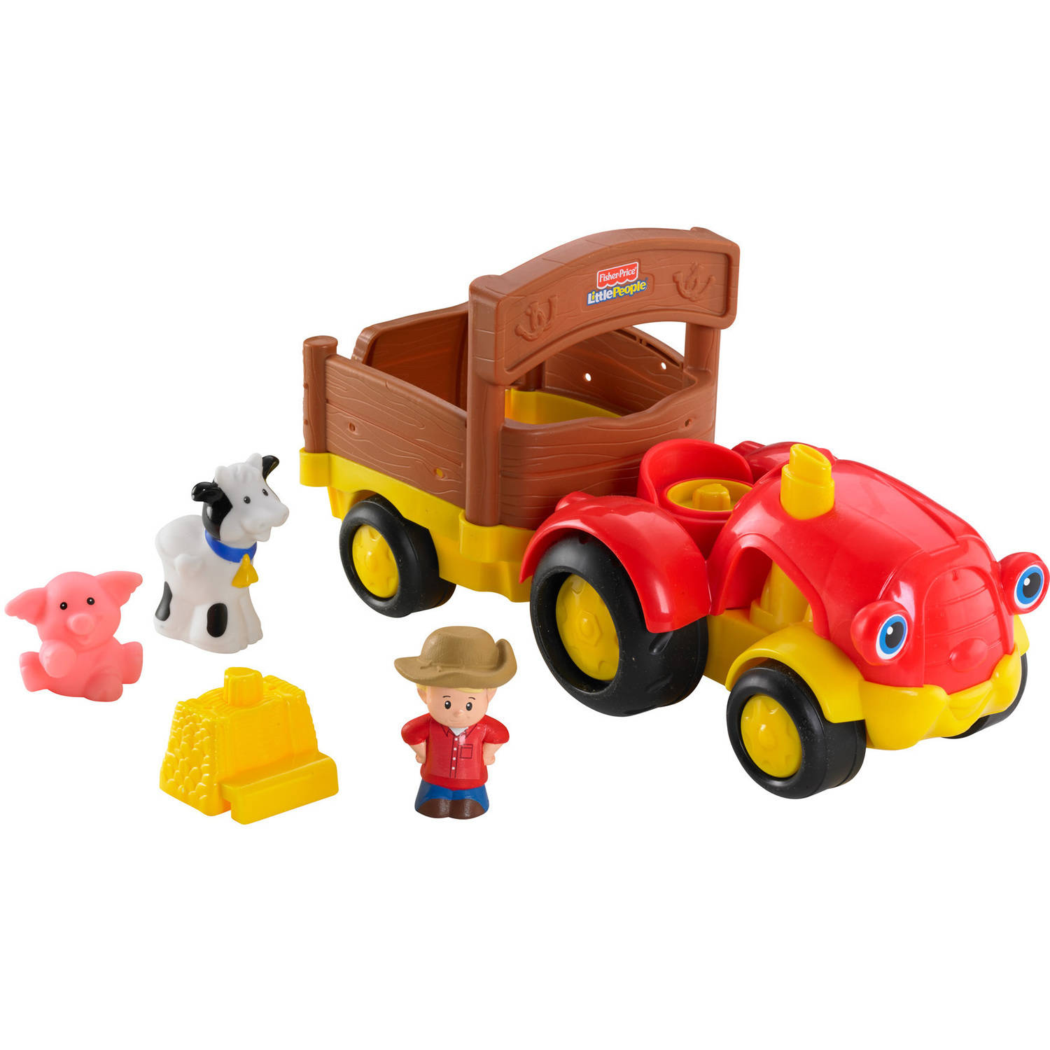 Little People Tow 'n Pull Tractor by Little People