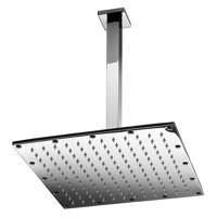 WS Bath Collections Supioni Self Cleaning Square Shower Head