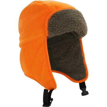 Mossy Oak Blaze Orange Trapper Hat - Walmart.com 2be6f98bece