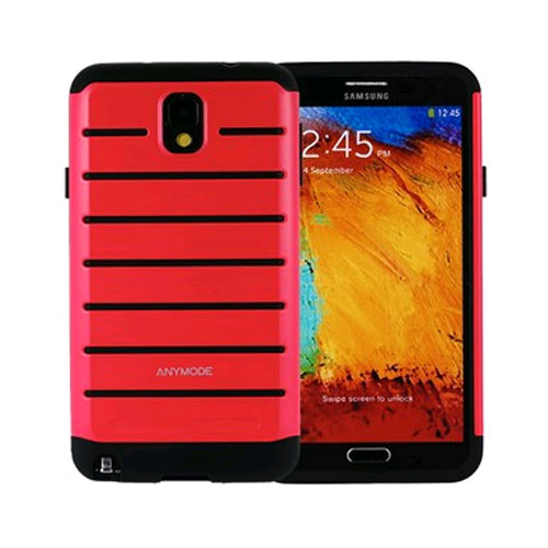 anymode rugged case for samsung galaxy note 3 - pink