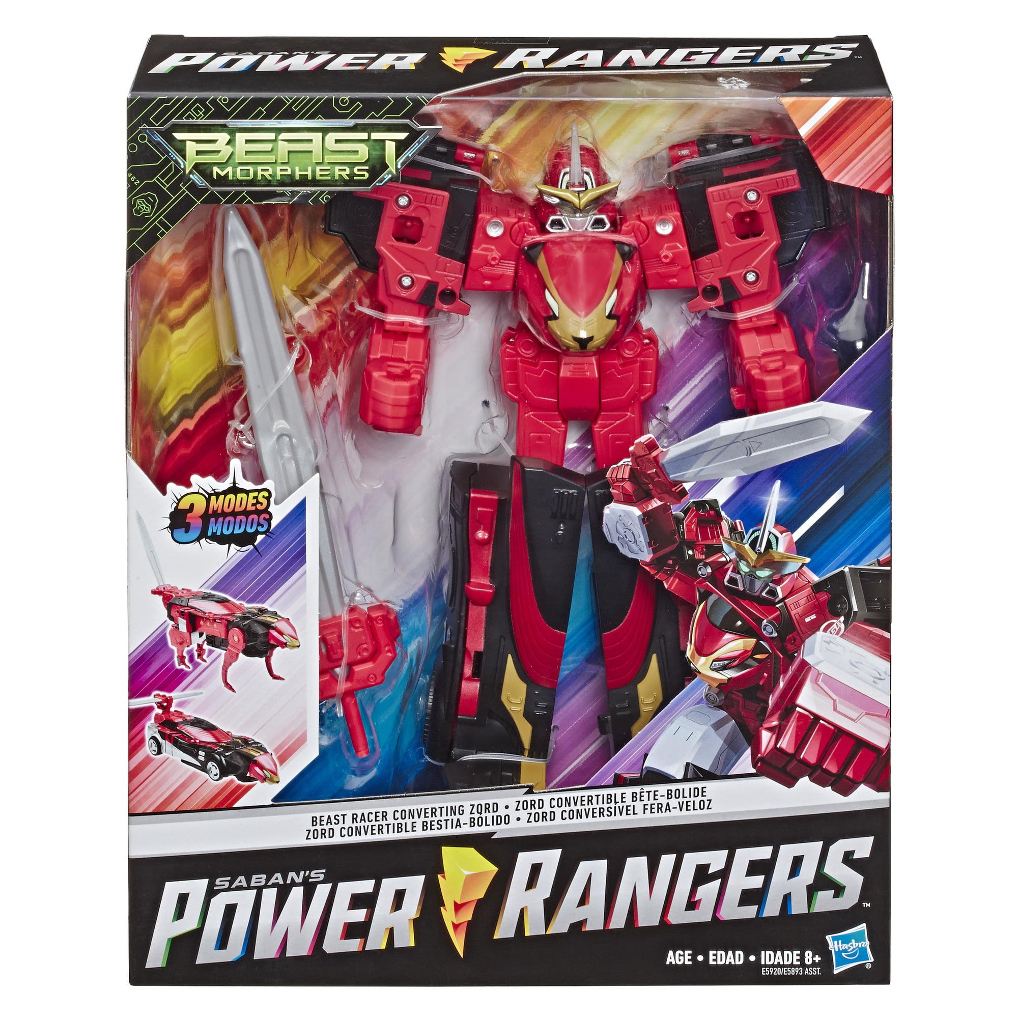 Power Rangers NEW Megazord Beast Morphers Action Figure Toy Beast Racer Zord