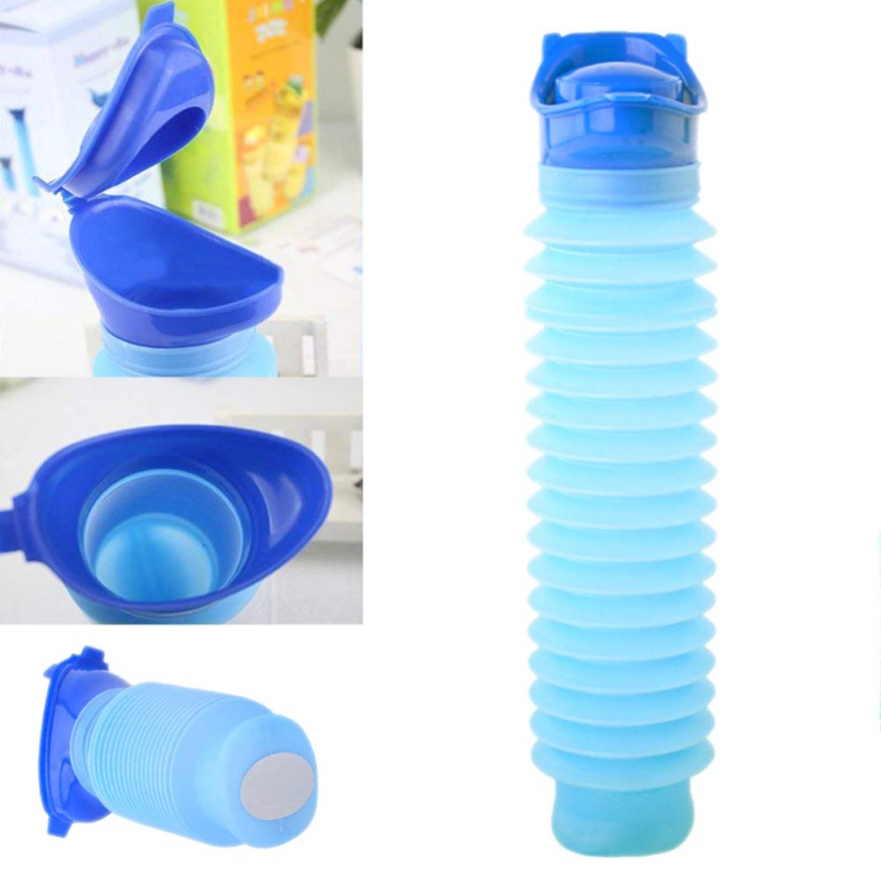 Outdoor Camping Travel Portable Shrinkable Personal Mobile Emergency Urinal