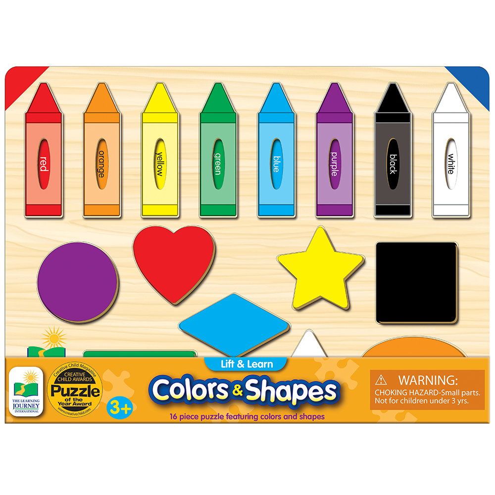 The Learning Journey Lift and Learn Colors and Shapes