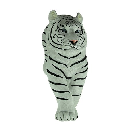 UPC 841548105204 product image for Silent Prowler Walking Siberian White Tiger Wall Sculpture | upcitemdb.com
