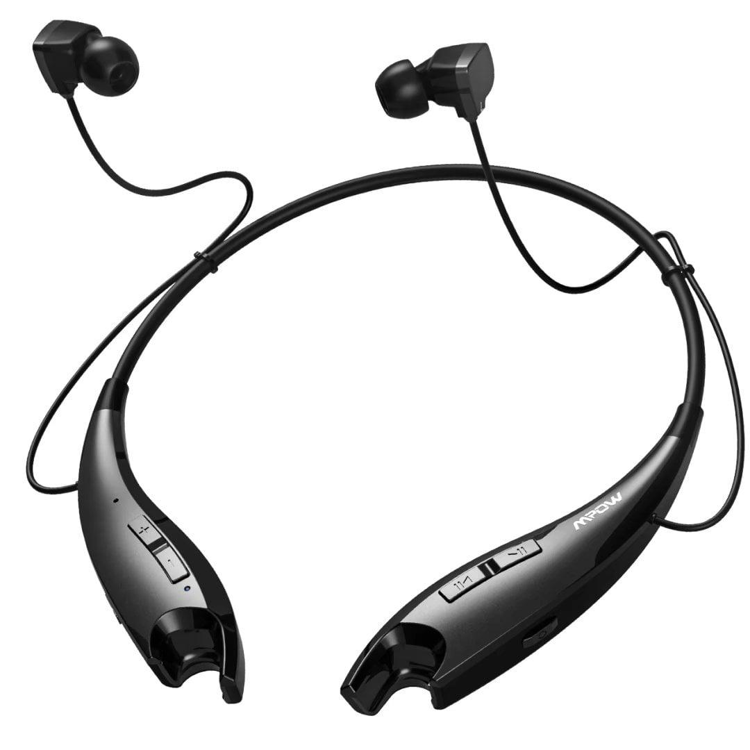 Mpow Jaws Wireless Bluetooth 4 1 Stereo Headset Universal Headphone