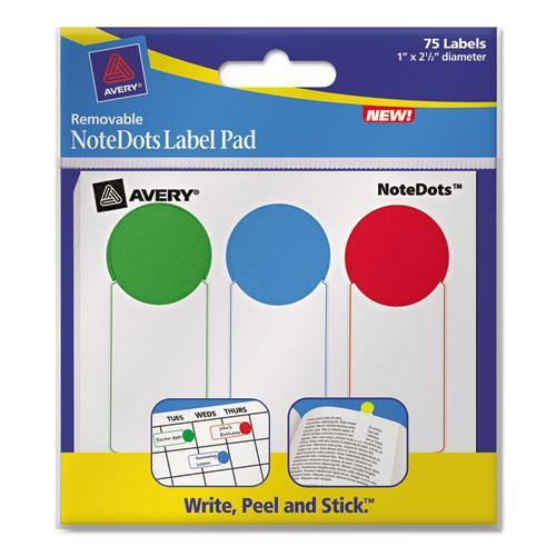 Avery NoteDots Color Coded Label AVE45295