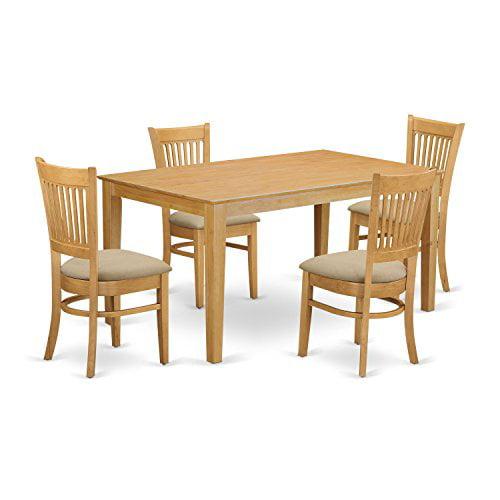 cava5 oak c 5 small kitchen table set kitchen