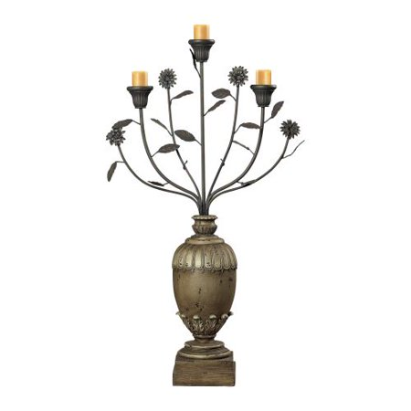 Sterling Industries 93-9142 Floral Display Style Candle Holder
