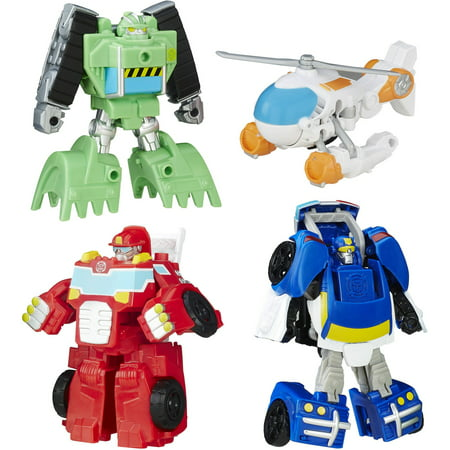 Playskool Heroes Transformers Rescue Bots Griffin Rock Rescue Team](Rescue Bot)