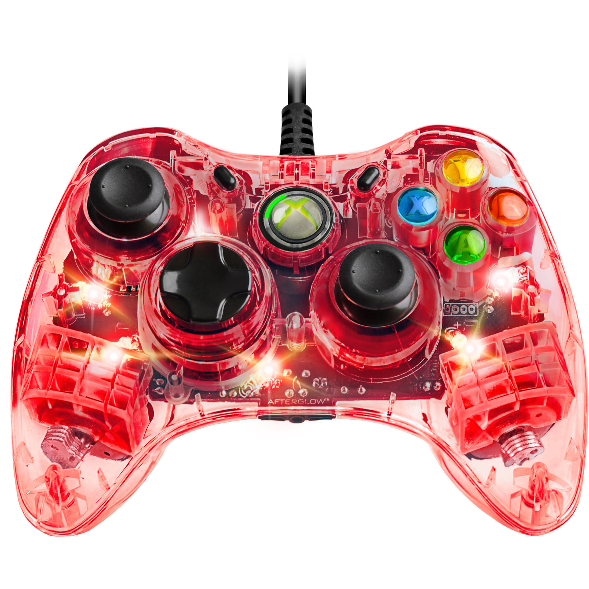 PDP Afterglow Controller, Red (Xbox 360)