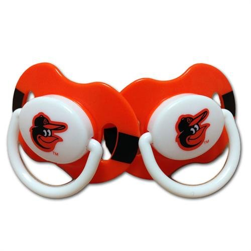 2 Pack Pacifiers - Baltimore Orioles Baltimore Orioles BFBBBALP
