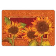 Drymate Fall Collection Welcome Mat - Sunflower
