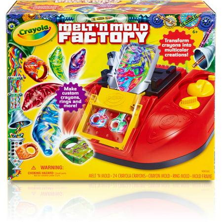 Crayola Melt 'n Mold Factory Kit - Easy Halloween Arts N Crafts