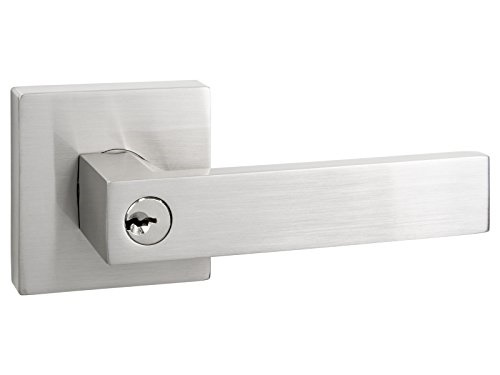 Quad   Square Keyed Door Lever / Door Handle By Nova Hardware (Keyed) By