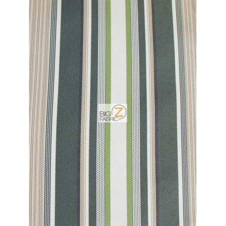 oxford stripe outdoor canvas waterproof fabric green sold by the yard. Black Bedroom Furniture Sets. Home Design Ideas