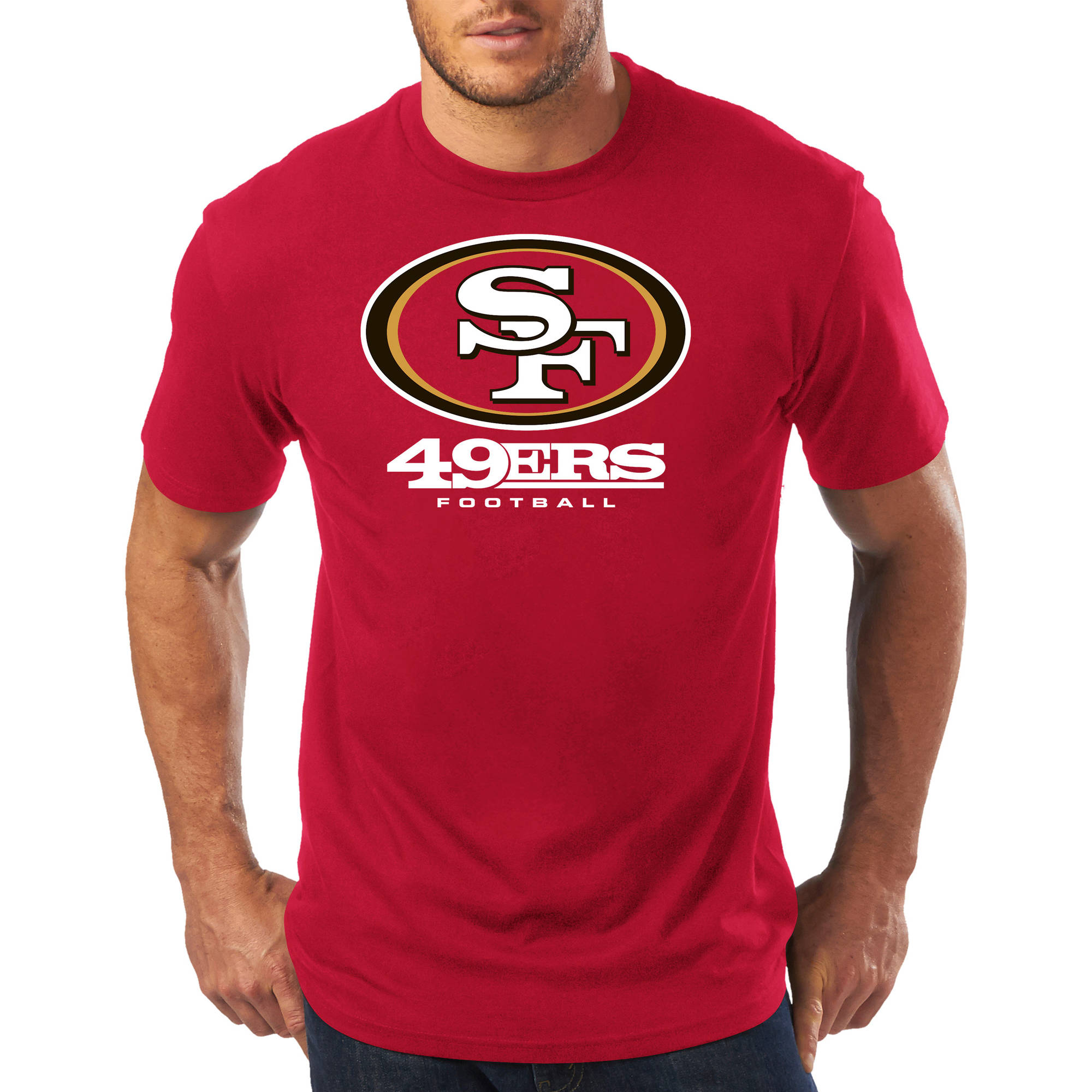 Big Men's NFL San Francisco 49Ers Short Sleeve Tee