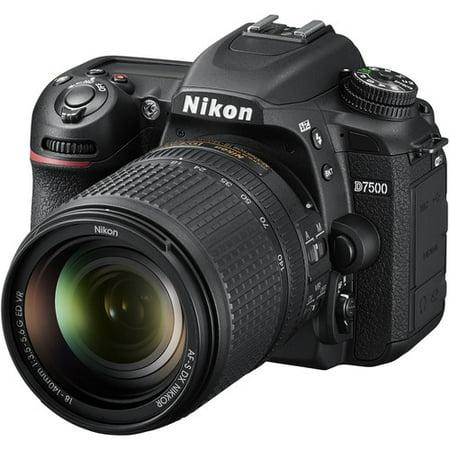 Nikon D7500 DSLR Camera with 18-140mm Lens