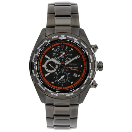 - World Timer Chronograph Mens Watch SPL037