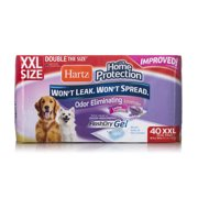 Hartz home protection odor-eliminating xxl dog pads, 30 in x 30 in, 40 count