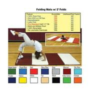 Folding Mat w/ 2' Folds - 4' x 6' x 2''