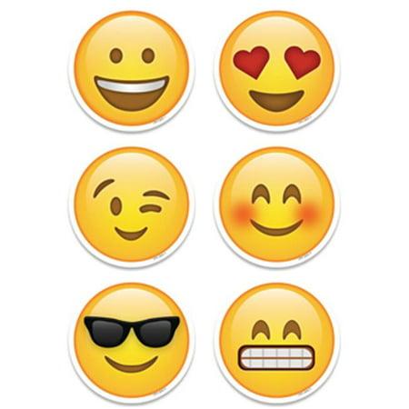10 in. Emoji Fun Designer Cut-Outs - image 1 of 1