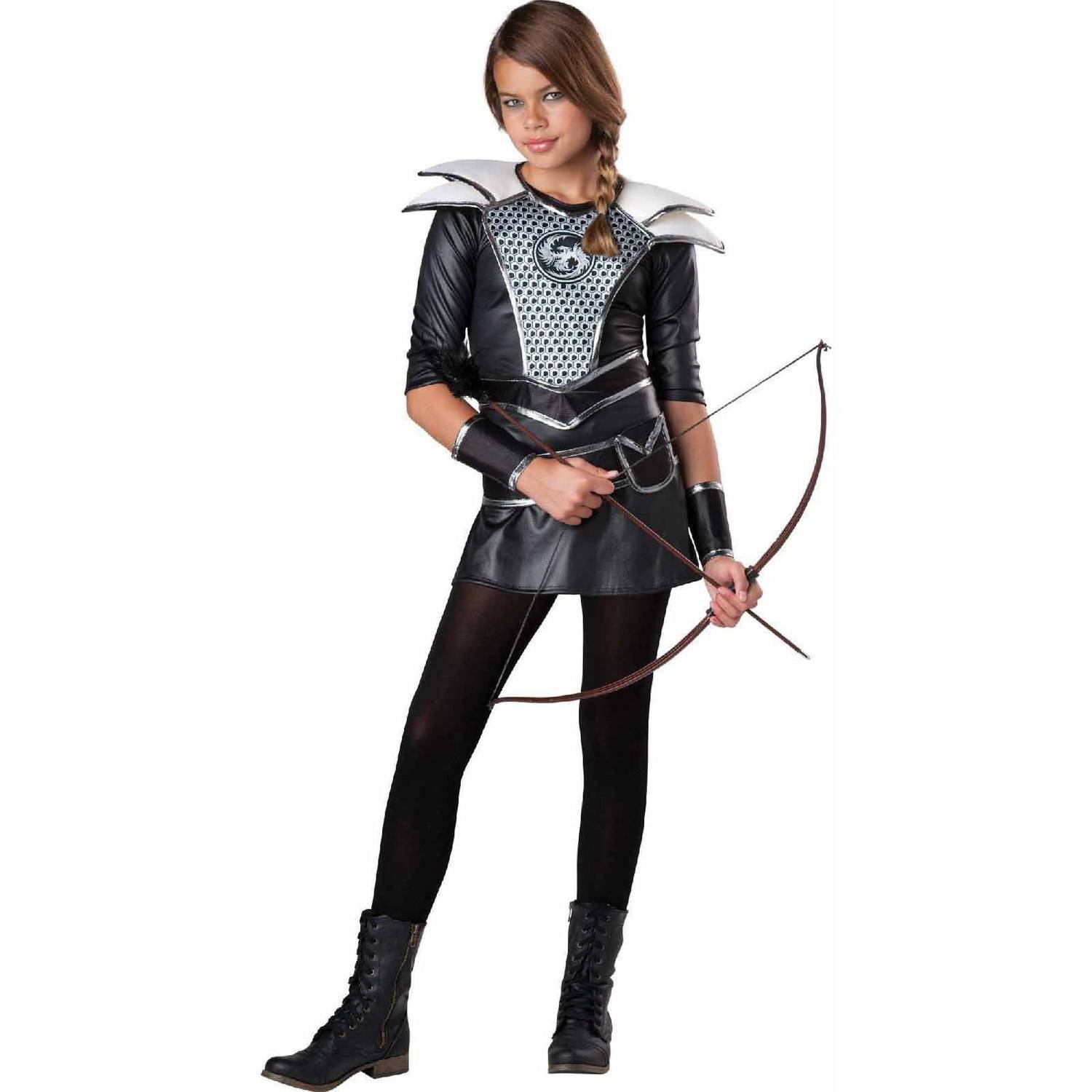 midnight huntress girls teen halloween costume walmartcom - Girls Teen Halloween Costumes
