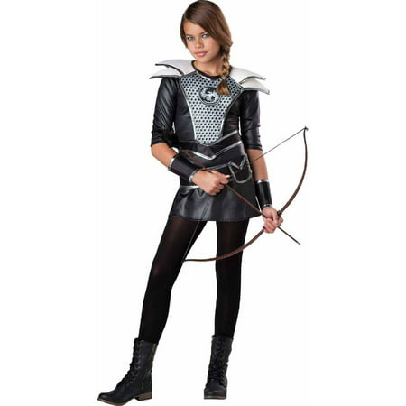 Girls Huntress Costume (Midnight Huntress Girls' Teen Halloween)