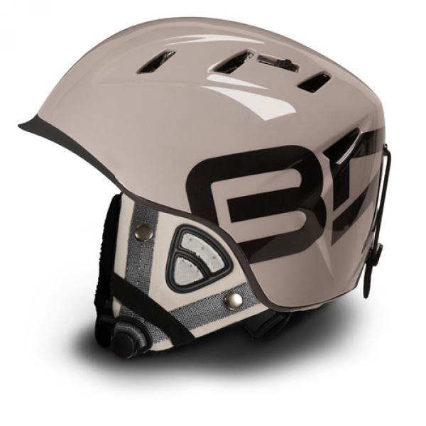 Briko 10.0 Contest Ski Helmet Slope Style Stone w Contest Ears included Medium 57-58 CM by SOGEN SPORTS INC.