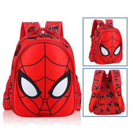 3D Spiderman School Bag Backpack Three Size For Kids Children