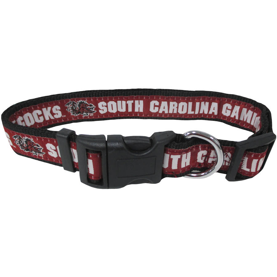 Pets First College South Carolina Gamecocks Pet Collar, 3 Sizes Available, Sports Fan Dog Collar