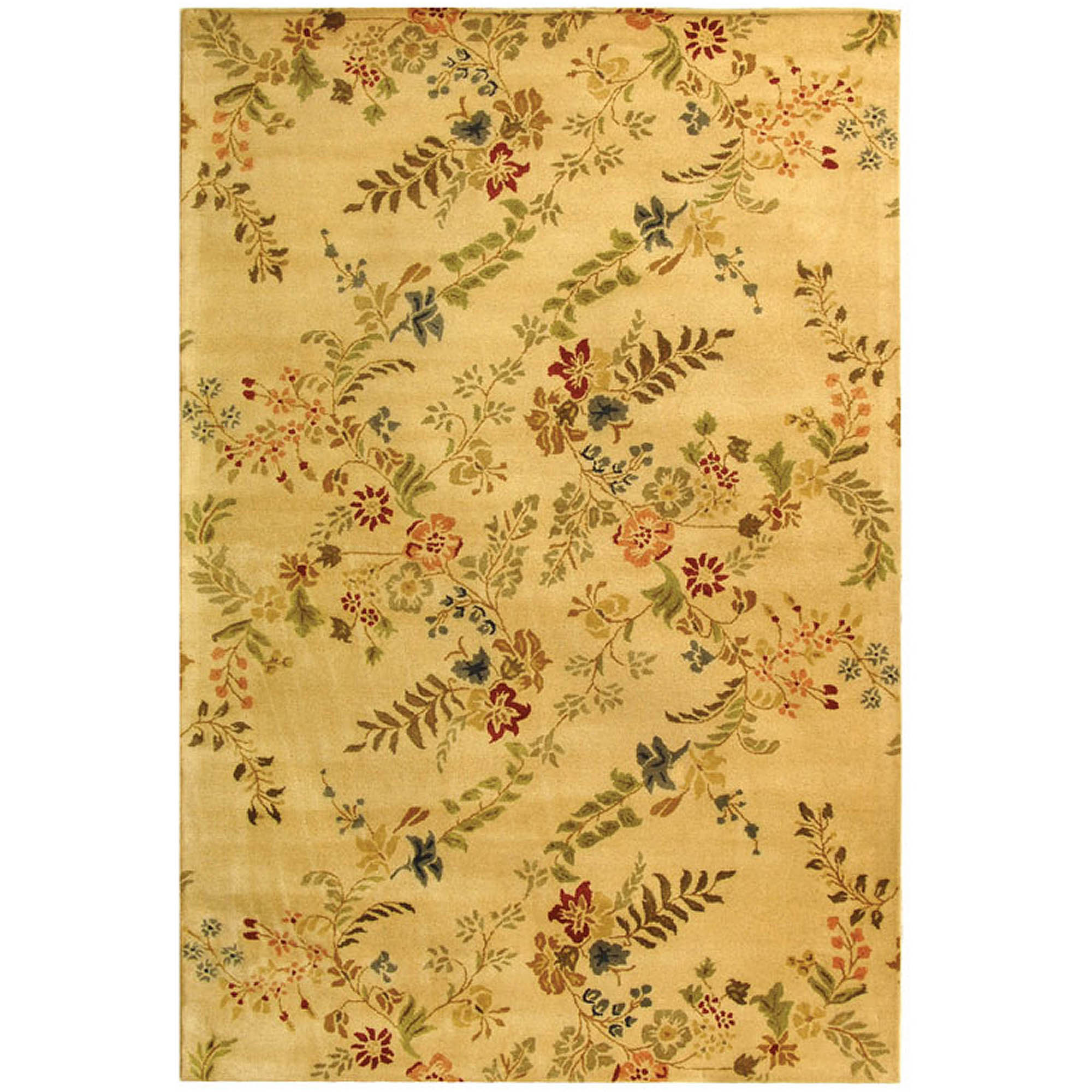 Safavieh Metro Norman Hand Tufted Wool Area Rug, Ivory and Multi-Colored