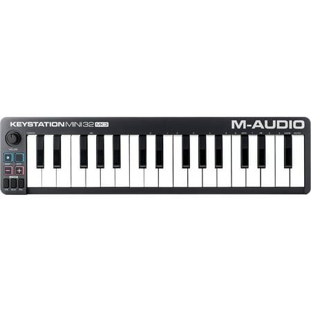 M-Audio Keystation Mini 32 MK3 Ultra-Portable Mini USB MIDI Keyboard