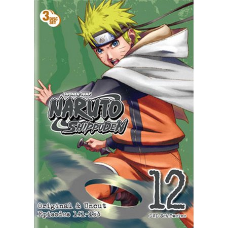 Naruto Shippuden: Box Set 12 (DVD) ()